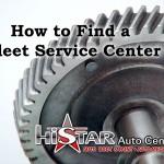 How to Find a Fleet Service Center