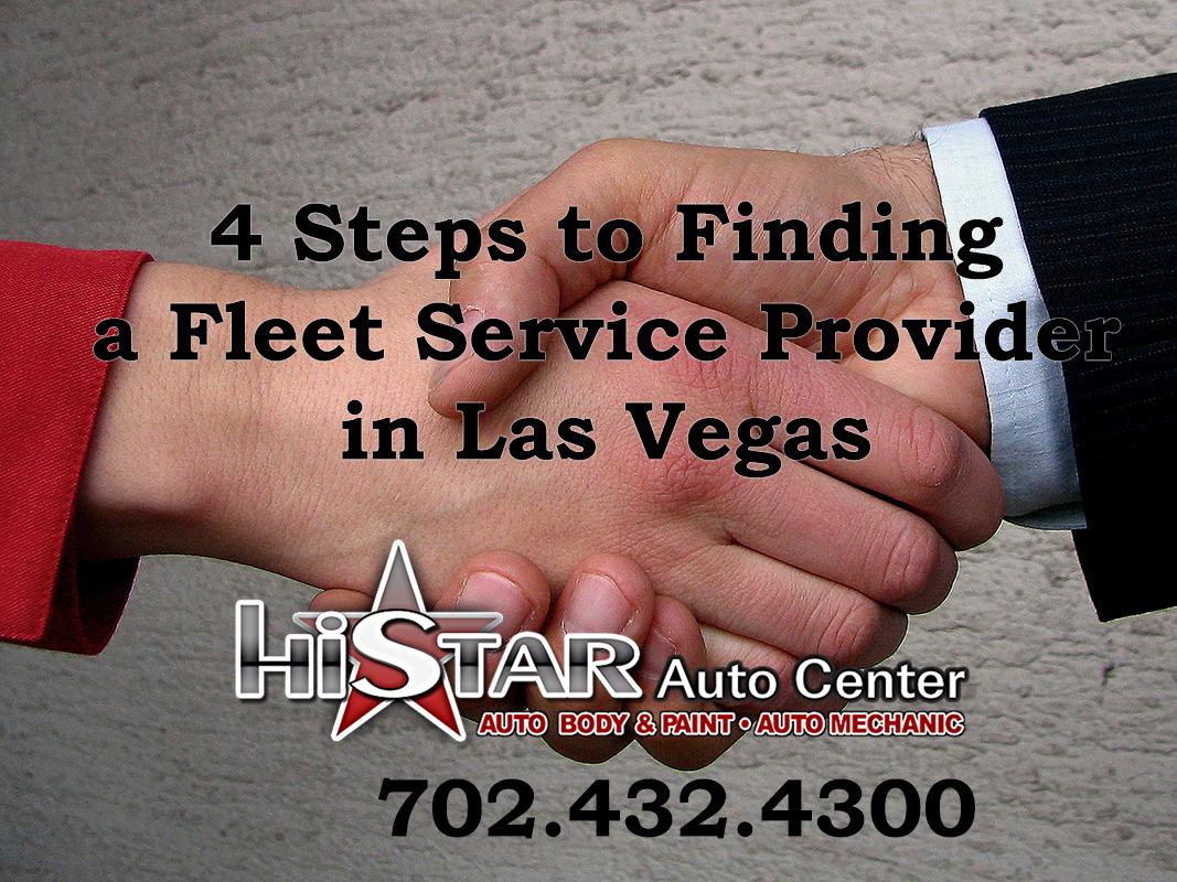 find a fleet service provider Las Vegas